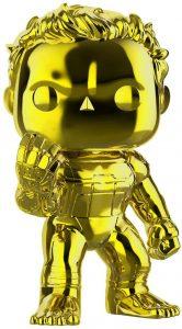 FUNKO POP de Hulk Chrome chasquido - Los mejores FUNKO POP Chrome dorado