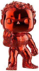 FUNKO POP de Hulk Chrome chasquido - Los mejores FUNKO POP Chrome rojo