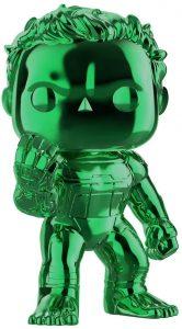 FUNKO POP de Hulk Chrome chasquido - Los mejores FUNKO POP Chrome verde