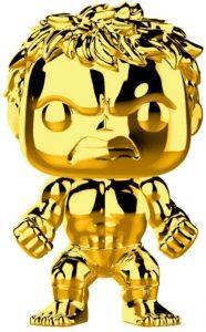 FUNKO POP de Hulk Chrome de Marvel Studios 10 - Los mejores FUNKO POP Chrome dorado