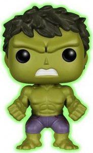 FUNKO POP de Hulk Glow in the Dark - Los mejores FUNKO POP Glow in the Dark - FUNKO POP especiales que brillan en la oscuridad