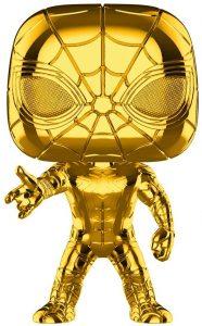 FUNKO POP de Iron Spider Chrome de Marvel Studios 10 - Los mejores FUNKO POP Chrome dorado