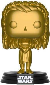 FUNKO POP de Leia Chrome dorado - Los mejores FUNKO POP Chrome