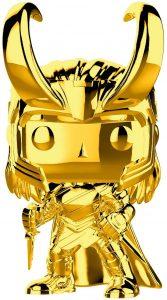 FUNKO POP de Loki Chrome de Marvel Studios 10 - Los mejores FUNKO POP Chrome dorado