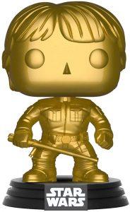 FUNKO POP de Luke Skywalker Chrome dorado - Los mejores FUNKO POP Chrome