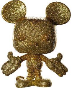FUNKO POP de Mickey Mouse Glitter - Los mejores FUNKO POP con purpurina - FUNKO POP especiales Glitter