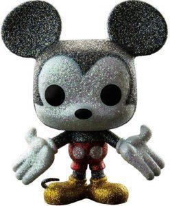 FUNKO POP de Mickey Mouse Glitter clásico - Los mejores FUNKO POP con purpurina - FUNKO POP especiales Glitter