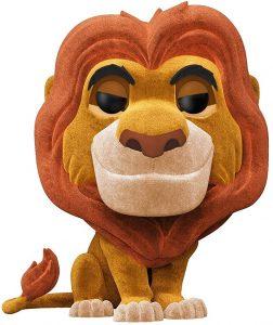 FUNKO POP de Mufasa flocked de Rey león - Los mejores FUNKO POP Flocked con pelo - FUNKO POP especiales Flocked