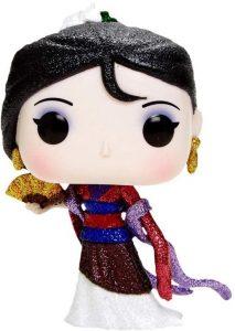 FUNKO POP de Mulán Glitter - Los mejores FUNKO POP con purpurina - FUNKO POP especiales Glitter
