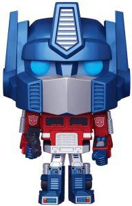 FUNKO POP de Optimus Prime Metallic - Los mejores FUNKO POP metalizados - FUNKO POP especiales Metallic