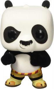 FUNKO POP de Po de Kung Fu Panda flocked - Los mejores FUNKO POP Flocked con pelo - FUNKO POP especiales Flocked