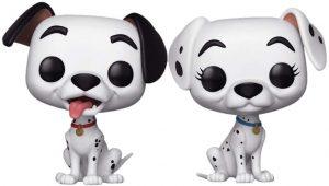 FUNKO POP de Pongo y Perdita de 101 dálmatas - Los mejores FUNKO POP de 101 dálmatas de Disney - FUNKO POP de Disney