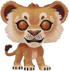 FUNKO POP de Simba flocked de Rey león - Los mejores FUNKO POP Flocked con pelo - FUNKO POP especiales Flocked
