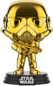 FUNKO POP de Stormtrooper Chrome dorado - Los mejores FUNKO POP Chrome