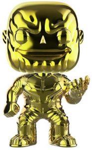 FUNKO POP de Thanos Chrome - Los mejores FUNKO POP Chrome amarillo