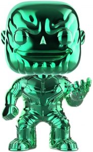 FUNKO POP de Thanos Chrome - Los mejores FUNKO POP Chrome green