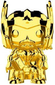 FUNKO POP de Thor Chrome de Marvel Studios 10 - Los mejores FUNKO POP Chrome dorado
