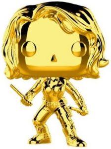 FUNKO POP de Viuda Negra Chrome de Marvel Studios 10 - Los mejores FUNKO POP Chrome dorado