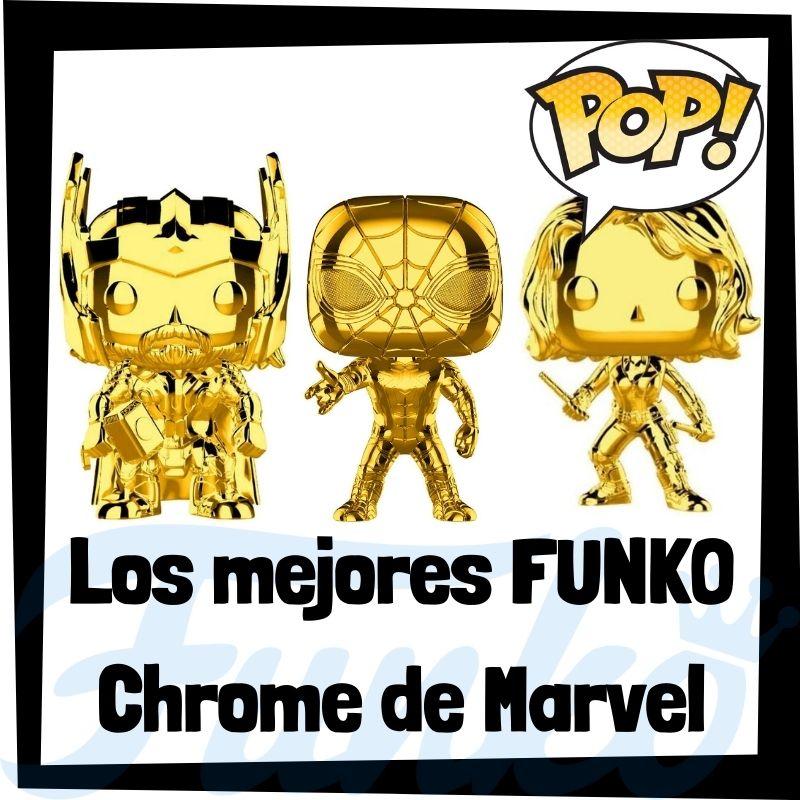 Los mejores FUNKO POP Chrome de Marvel