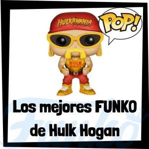 Los mejores FUNKO POP de Hulk Hogan de la WWE - Los mejores FUNKO POP de luchadores históricos de WWE de Hulk Hogan - Los mejores FUNKO POP de deportistas