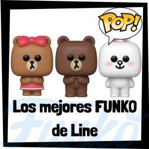 Los mejores FUNKO POP de Line Friends - Funko POP de series de televisión de dibujos animados