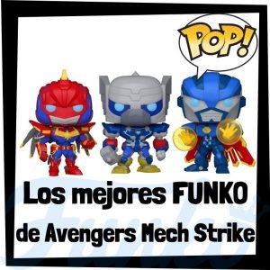 Los mejores FUNKO POP de Marvel Mech Strike - FUNKO POP de Vengadores Mech Strike - Funko POP de Avengers Mech Strike