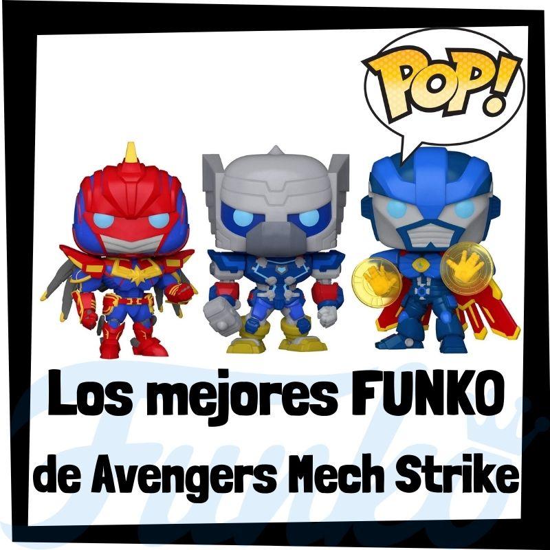 Los mejores FUNKO POP de Vengadores Mech Strike