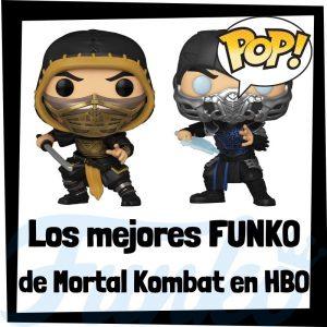 Los mejores FUNKO POP de Mortal Kombat la película - Los mejores FUNKO POP de personajes de Mortal Kombat la película