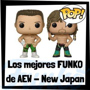 Los mejores FUNKO POP de luchadores de AEW - New Japan - The Bullet Club - Los mejores FUNKO POP de AEW - New Japan - Los mejores FUNKO POP de deportistas
