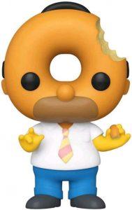 FUNKO POP de Donut Homer Head - Los mejores FUNKO POP de los Simpsons