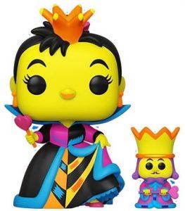 FUNKO POP de la Reina de Corazones de Black Light Series - Los mejores FUNKO POP de Alicia en el país de las Maravillas - FUNKO POP de Alice in Wonderland Black Light Series