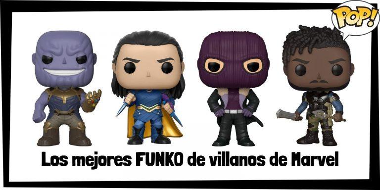 Guía FUNKO POP de villanos de Marvel - Funko POP de villanos de los Vengadores - Funko POP de los enemigos de Marvel