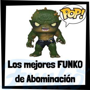 Los mejores FUNKO POP de Abominación de villanos de Marvel - Funko POP de villanos de los Vengadores - Funko POP de enemigos de Marvel