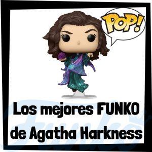 Los mejores FUNKO POP de Agatha Harkness de villanos de Marvel - Funko POP de villanos de los Vengadores - Funko POP de enemigos de Marvel