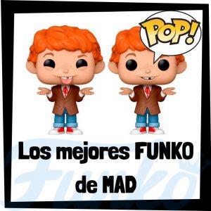 Los mejores FUNKO POP de Alfred E. Neuman de Mad - Funko POP de marcas y anuncios de televisión y la revista Mad