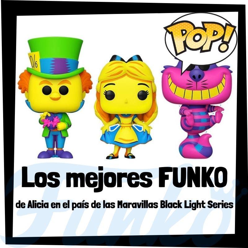 Los mejores FUNKO POP de Alice in Wonderland de Black Light Series