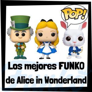 Los mejores FUNKO POP de Alicia en el país de las Maravillas - FUNKO POP de Alice in Wonderland de Disney