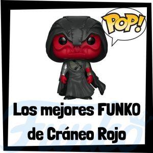 Los mejores FUNKO POP de Cráneo Rojo de villanos de Marvel - Funko POP de villanos de los Vengadores - Funko POP de enemigos de Marvel