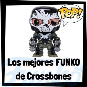 Los mejores FUNKO POP de Crossbones de villanos de Marvel - Funko POP de villanos de los Vengadores - Funko POP de enemigos de Marvel