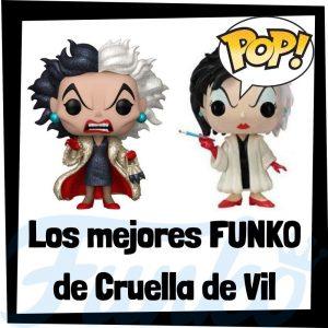 Los mejores FUNKO POP de Cruella de Vil de 101 dálmatas - FUNKO POP de Cruella
