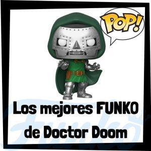 Los mejores FUNKO POP de Doctor Doom de villanos de Marvel - Funko POP de villanos de los Vengadores - Funko POP de enemigos de Marvel