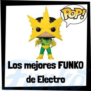 Los mejores FUNKO POP de Electro de villanos de Marvel - Funko POP de villanos de los Vengadores - Funko POP