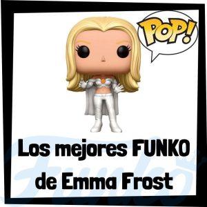 Los mejores FUNKO POP de Emma Frost de villanos de Marvel - Funko POP de villanos de los Vengadores - Funko POP de enemigos de Marvel