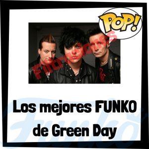 Los mejores FUNKO POP de Green Day de grupos musicales - Funko POP de Green Day Rocks