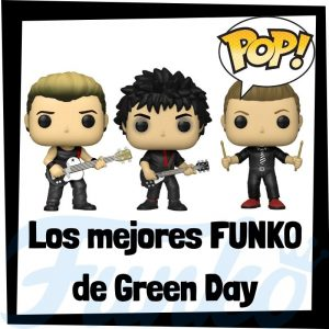 Los mejores FUNKO POP de Green Day de grupos musicales - Funko POP de Green Day Rocks - POP a Palooza