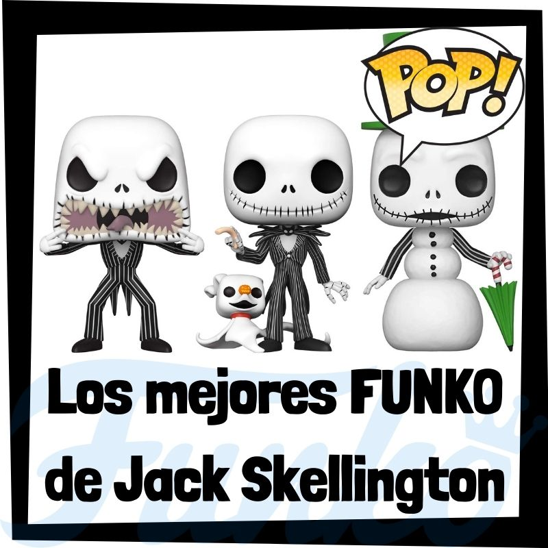 Los mejores FUNKO POP de Jack Skellington