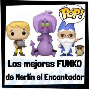 Los mejores FUNKO POP de Merlín el Encantador - Los mejores FUNKO POP de Disney de The Sword in the Stone de Disney