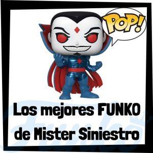 Los mejores FUNKO POP de Mister Siniestro de villanos de Marvel - Funko POP de villanos de los Vengadores - Funko POP de enemigos de Marvel