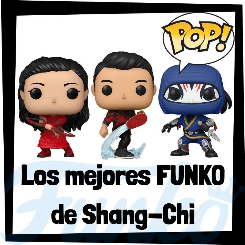 Los mejores FUNKO POP de Shang-Chi y la leyenda de los diez anillos