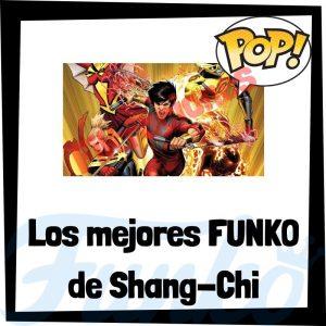 Los mejores FUNKO POP de Shang-Chi y la leyenda de los 10 anillos - Los mejores FUNKO POP de personajes de Shang-Chi - Filtraciones FUNKO POP